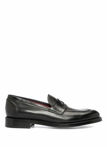 Barrett Deri Loafer Ayakkabı Siyah